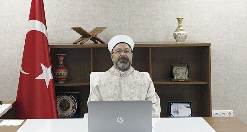 Diyanet İşleri Başkanı Erbaş: 'İslam, şiddet ve terörün kaynağı olamaz'