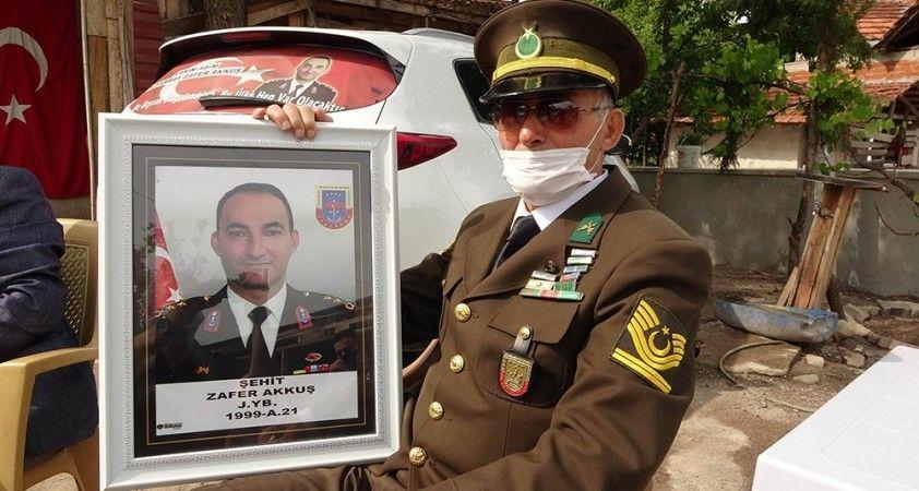 Şehit binbaşının emekli astsubay babası: