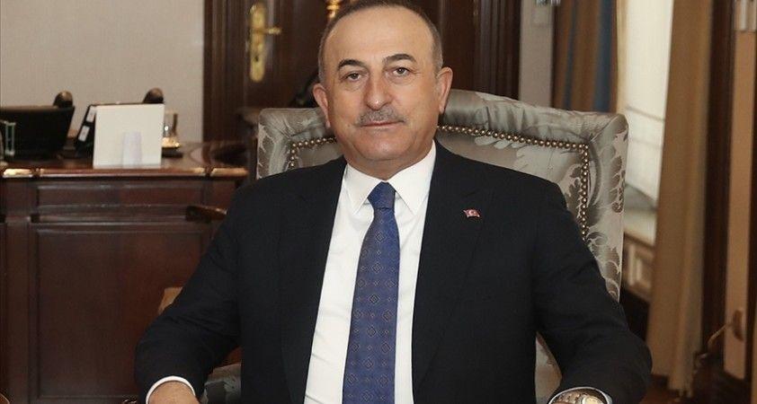 Çavuşoğlu, AGİT Ukrayna Özel Gözlem Misyonu Türk Heyeti ile görüştü