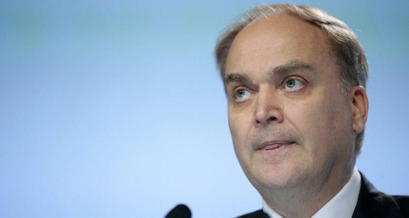 """Rusya'nın ABD Büyükelçisi Antonov: """"Tüm sorunların çözümü için yapıcı diyaloğa hazırız"""""""