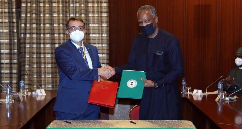 Türkiye ile Nijerya arasında 7 anlaşma imzalandı