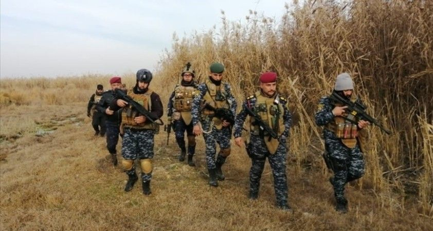 Irak'ın Kerkük kentinde terör örgütü DEAŞ'a ait 3 sığınak imha edildi