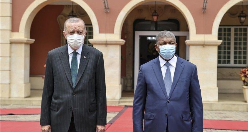 Cumhurbaşkanı Erdoğan Angola'da