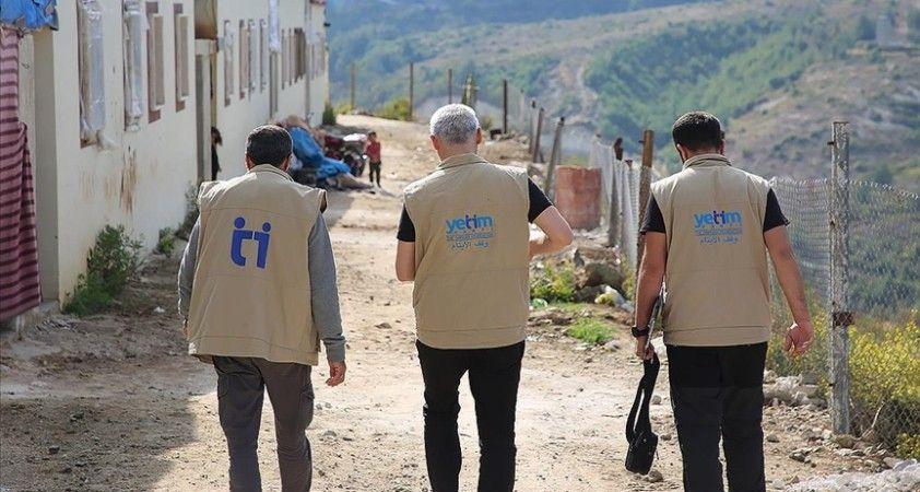 Yetim Vakfı Suriye'deki çalışmalarını sürdürüyor