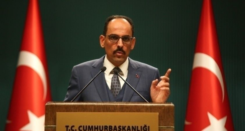 """İbrahim Kalın: """"Özgürlüğüne kavuşan Karabağ'ın yeniden inşası tüm hızıyla devam ediyor"""""""