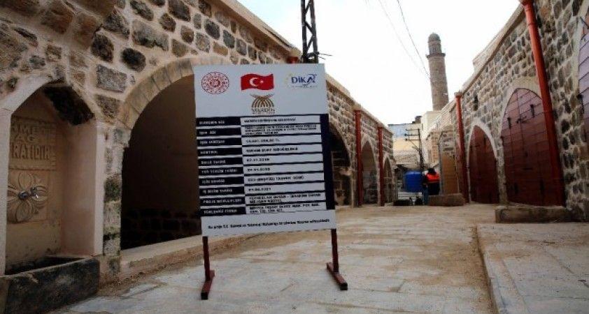 Mardin'in tarihi çarşıları ilk görünümüne kavuşuyor