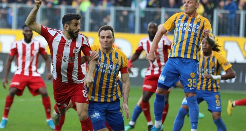 Sivasspor ile MKE Ankaragücü 18. randevuda
