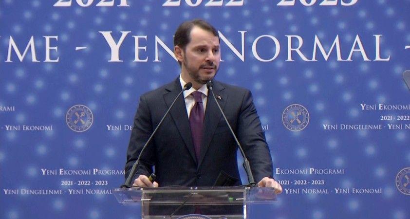 Bakan Albayrak ekonomide 2023 hedeflerini açıkladı