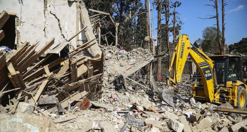 Ermenistan'ın saldırılarında 2 binden fazla ev kullanılamaz hale geldi
