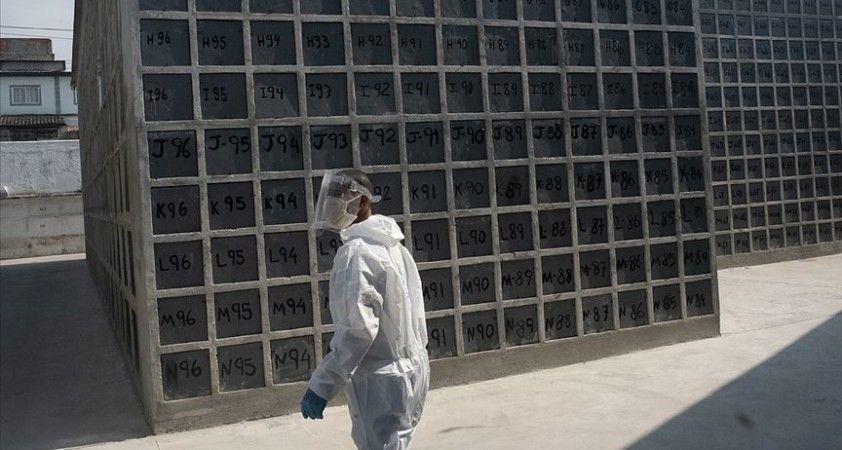 Kovid-19'dan son 24 saatte Brezilya'da 1091 Meksika'da 523 Hindistan'da 610 kişi öldü