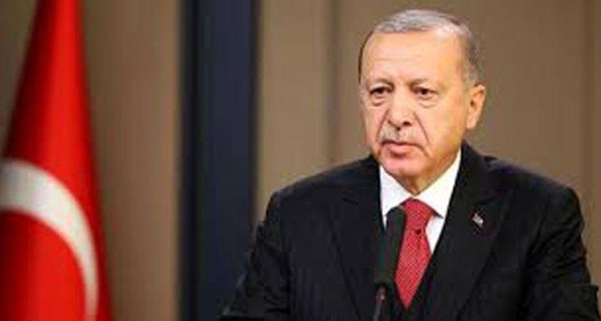 Cumhurbaşkanı Erdoğan TBMM Başkanı Şentop'u tebrik etti