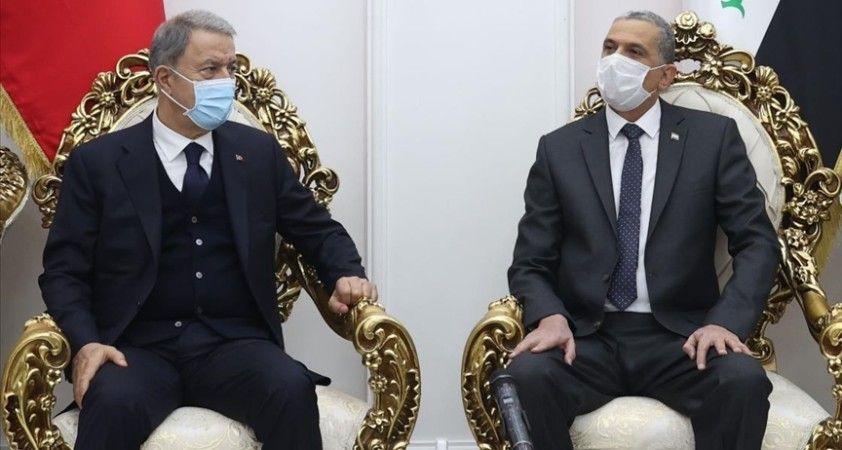 Milli Savunma Bakanı Akar: Türkiye ve Irak arasındaki iş birliği bölgemiz açısından kritik önem taşımaktadır