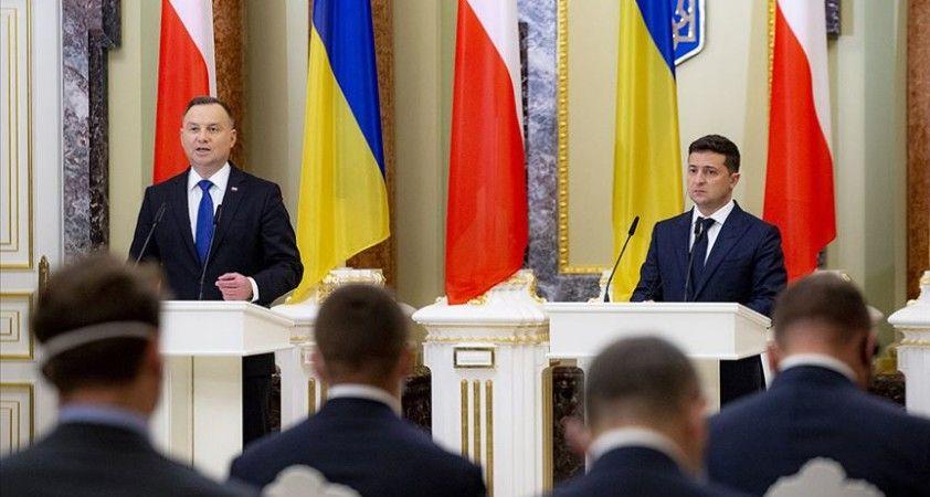 Polonya ve Ukrayna'dan Rusya'ya Kırım'ın yasa dışı ilhakını sona erdirme çağrısı