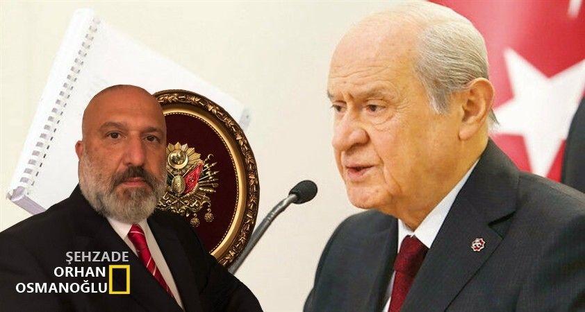 MHP'den 100 maddelik yeni Anayasa teklifi..