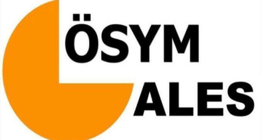 2021-ALES/1 sınav sonuçları açıklandı