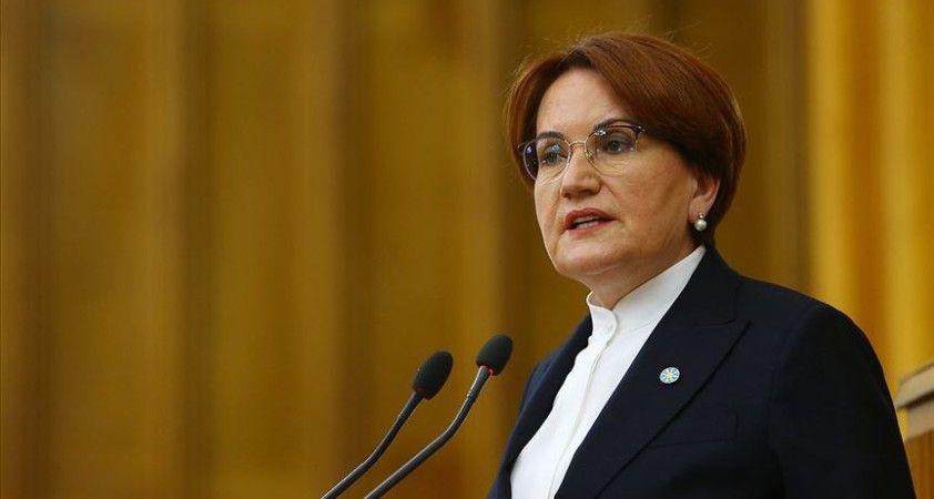 İYİ Parti Genel Başkanı Akşener: Türkiye'nin diplomasi birikimini harekete geçirin