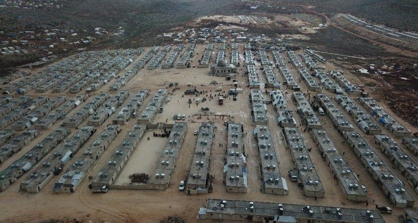 Suriye'de yapılan briket evler 3 milyon kişiye umut oldu