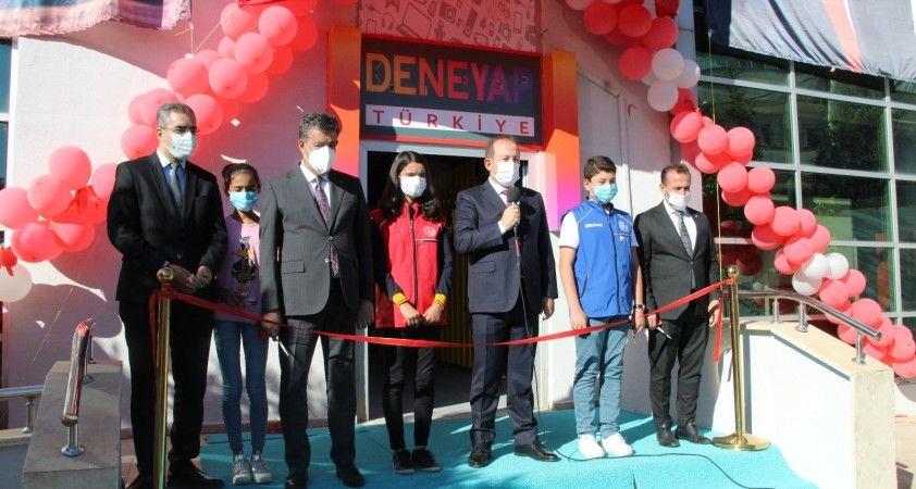 Şırnak'ta 'Deneyap Teknoloji Atölyesi'nin açılışı yapıldı