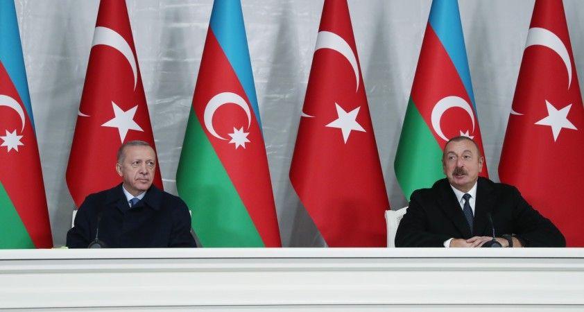 """Cumhurbaşkanı Erdoğan: """"Kardeş azerbaycan'a tüm imkanlarımızla destek olmaya devam edeceğiz"""""""