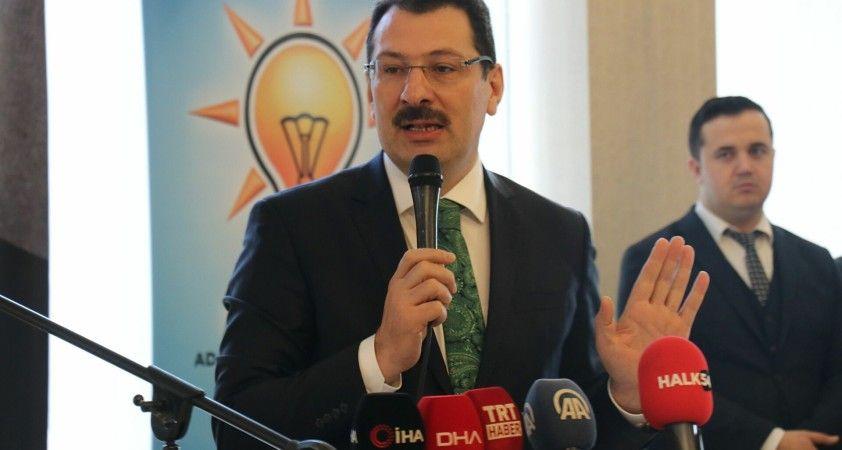 AK Partili Ali İhsan Yavuz: Seçimlerin erkene alınması için hiçbir neden yok