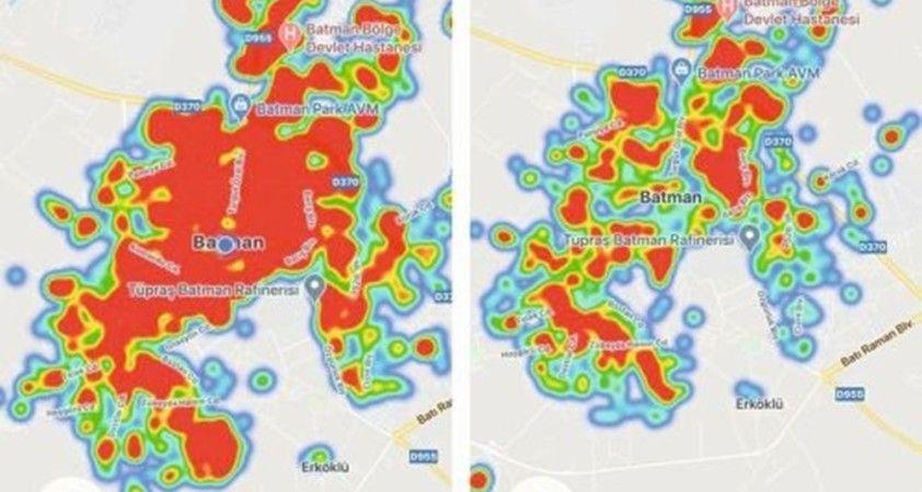 Bu ilde harita kırmızıya döndü