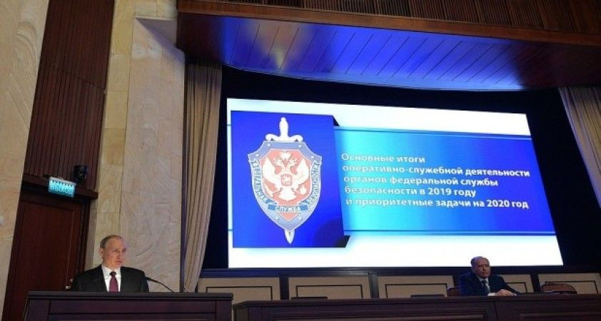 Putin'in Rus istihbaratı toplantısı sırasında FSB'den büyük operasyon
