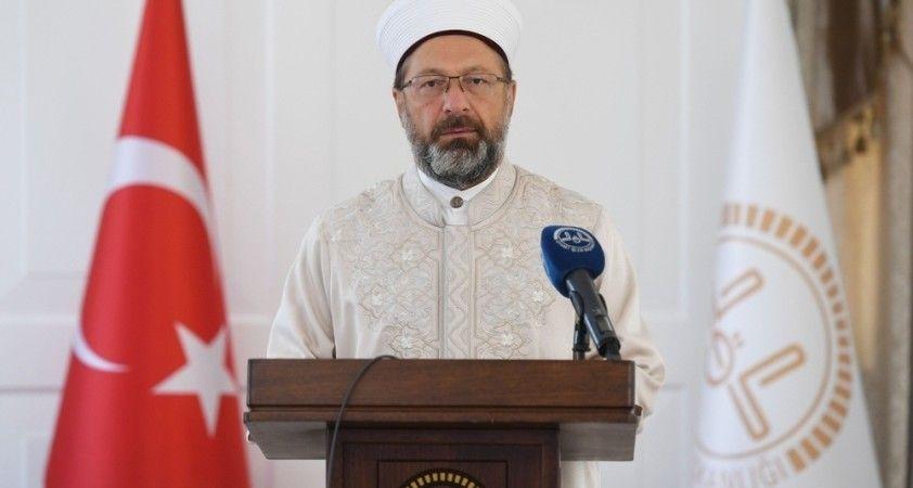 """Diyanet İşleri Başkanı Erbaş: Türk milleti, her zaman Azerbaycanlı kardeşlerinin yanındadır"""""""