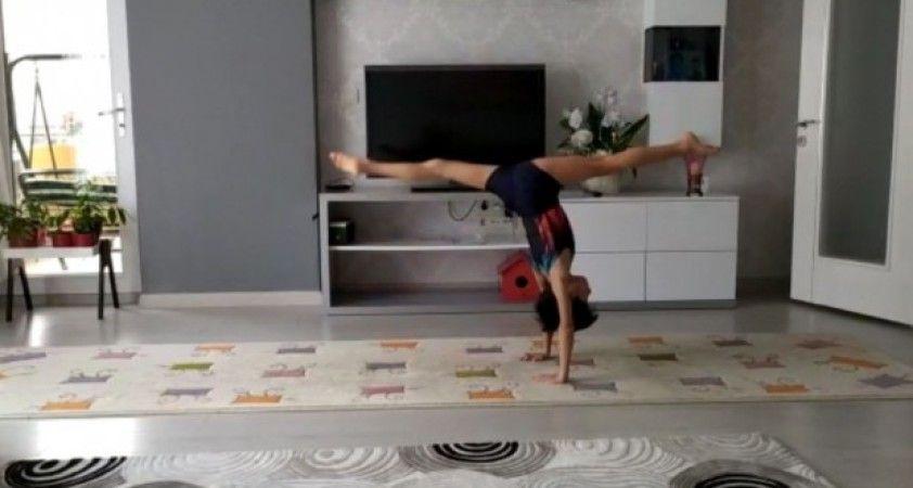 Aydın'da 'Evde kal sporsuz kalma' etkinlikleri