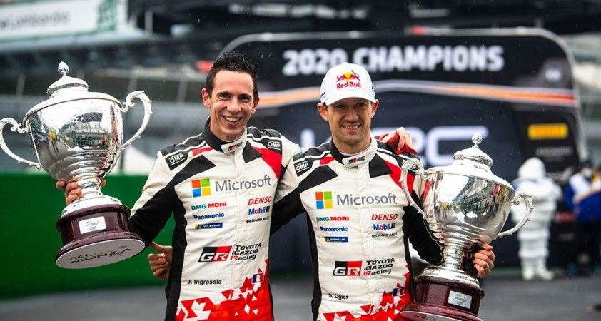 Dünya Ralli Şampiyonası'nda sezonun ilk yarışını son şampiyon Ogier kazandı