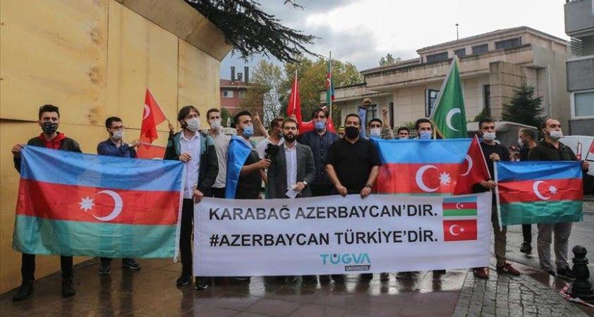 TÜGVA: Ermenistan ordusu adeta bir sivil katliamına imza atmakta