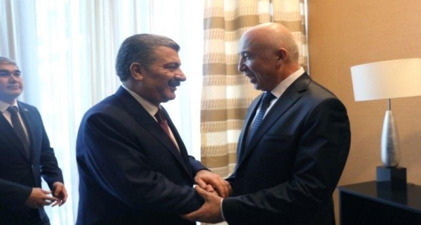 Bakan Koca, Özbekistan Sağlık Bakanı Shadmanov ile bir araya geldi