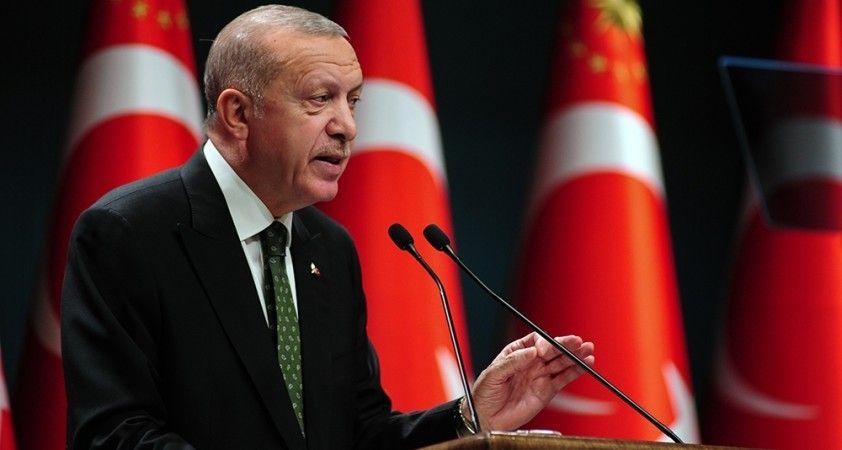 """Cumhurbaşkanı Erdoğan, """"50 milyon doz aşı ülkemize gelecek"""""""