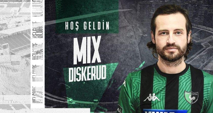 Mix Diskerud, 1,5 yıllığına Denizlispor'da
