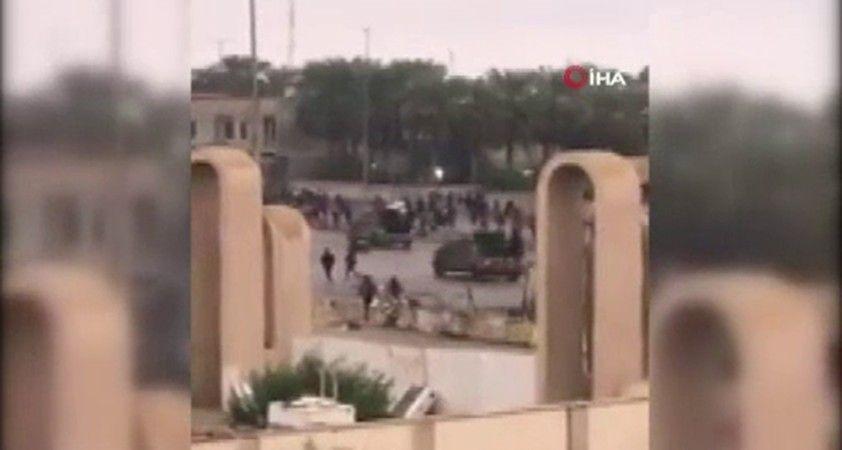 Irak'ta olaylı protesto: 2 ölü