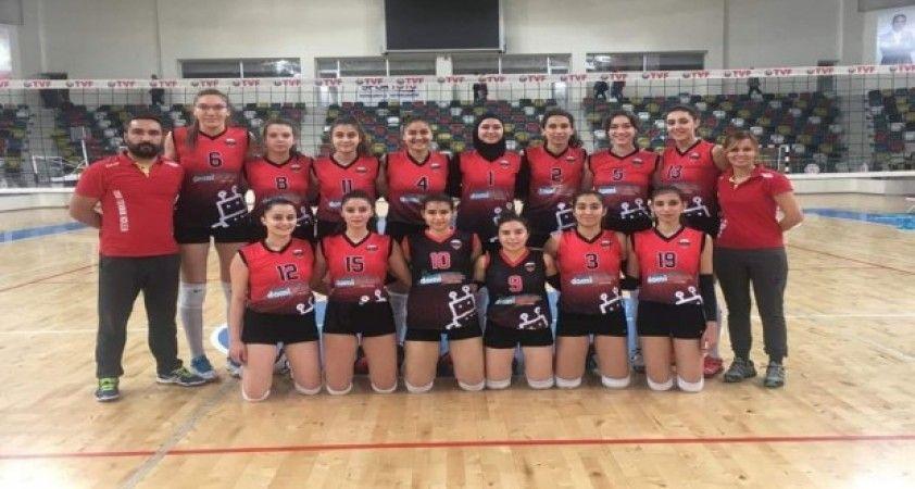 Kadınlar Voleybol 2. Ligi Hatay Doğuş Okulları:0 - OSB Teknik Koleji:3