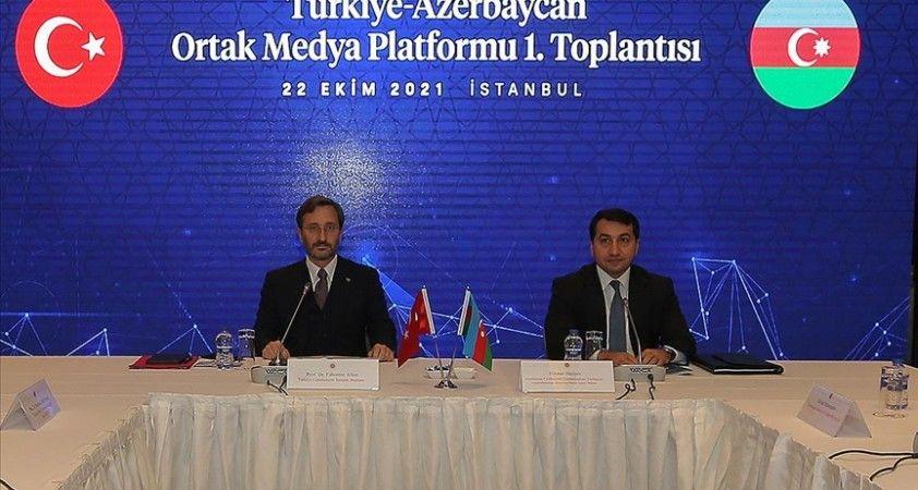 Türkiye-Azerbaycan Ortak Medya Platformu'nun ilk toplantısı yapıldı