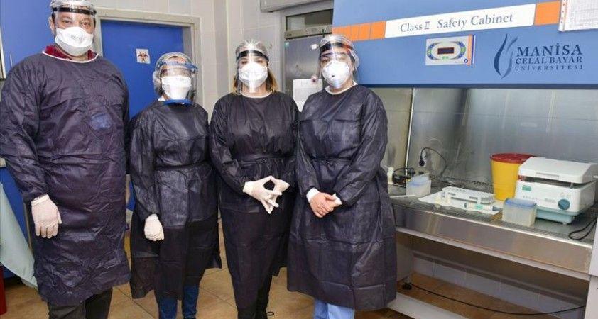 Manisa CBÜ Hafsa Sultan Hastanesi Kovid-19 testi için yetkilendirildi