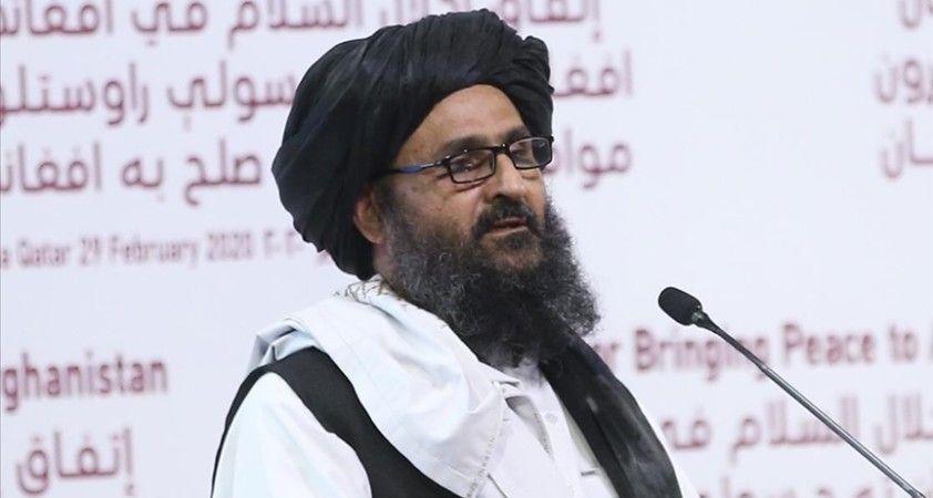 Afganistan hükümeti ile barış görüşmelerini sürdüren Taliban heyeti İran'da