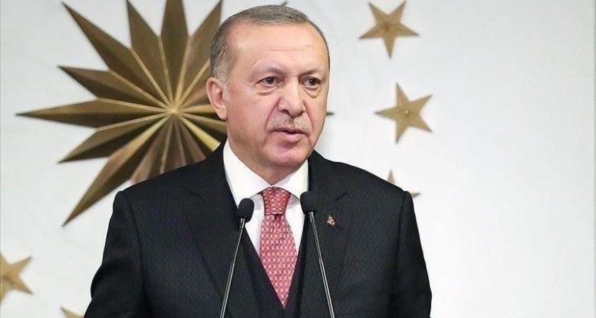 Cumhurbaşkanı Erdoğan, şehit Piyade Uzman Çavuş Faruk Eser'in ailesine başsağlığı diledi