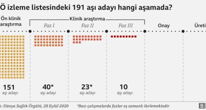 Dünya Covid-19 aşısına ne kadar yakın?
