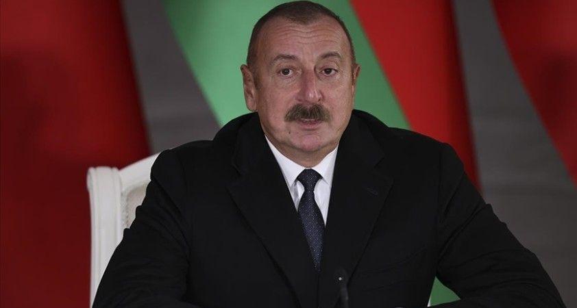 Azerbaycan Cumhurbaşkanı Aliyev: Tarihi biz Türkiye ile birlikte yazıyoruz