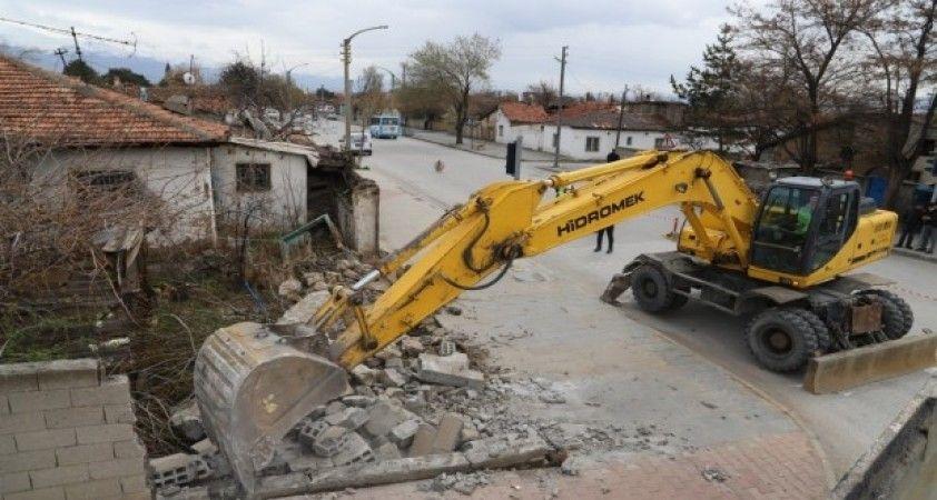 Kızılay - Hocabey Kentsel Dönüşüm Projesi fiilen başladı