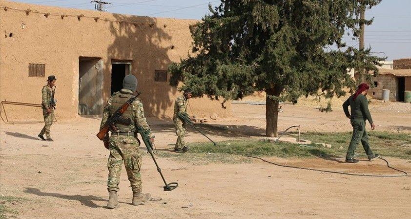 Terör örgütü YPG/PKK'nın Aynularab'da döşediği mayınlar bir sivilin daha yaşamını kaybetmesine yol açtı