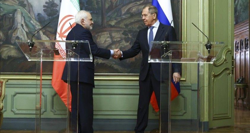 İran Dışişleri Bakanı Zarif ile Rus mevkidaşı Lavrov Tahran'da nükleer anlaşmayı görüştü