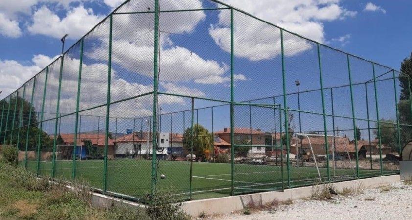 Kütahya'ya 5 milyon 888 bin TL'lik spor yatırımı