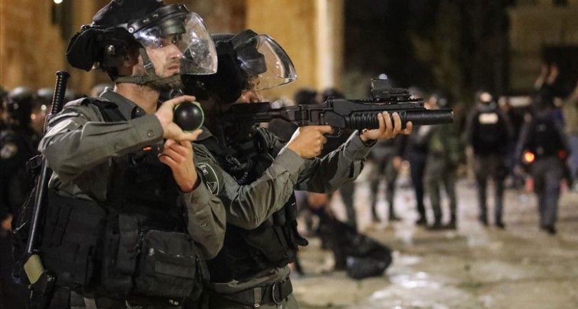 İsrail güçleri Kudüs'te 13 Filistinliyi gözaltına aldı