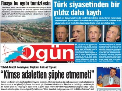 Ogün Gazetesi - Sayı: 2007/5